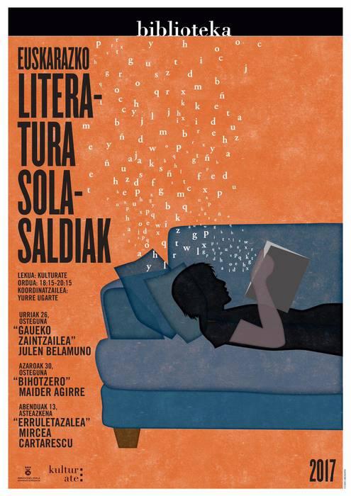 Literatur solasaldiak: 'Erruletazalea', Mircea Cartarescu