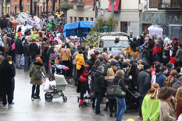 Inauterietako desfilea Aretxabaletan - 94