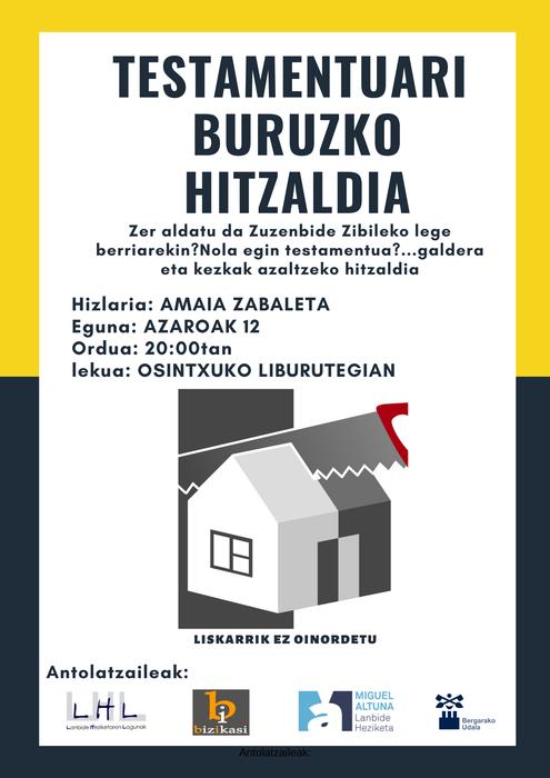 Testamentuari Buruzko Hitzaldia