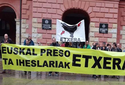 Euskal presoen etxeratzea eskatzeko kontzentrazioa egingo du LABek