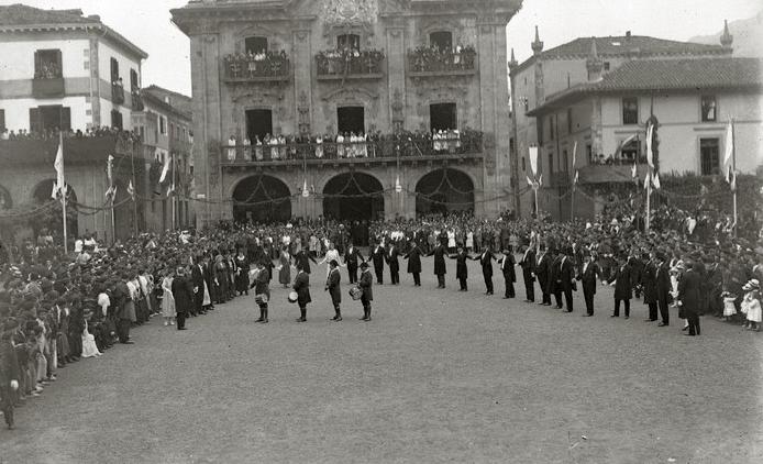 'Euskal Ikasketen Lehen Kongresua. Oñati-1918'