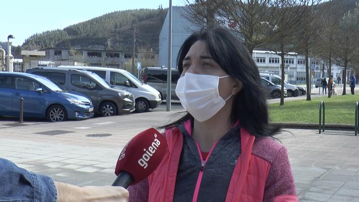 """Susana Santor: """"Ziurgabetasuna genuen eskola kirolean; orain, egonkortasuna izango dugu"""""""