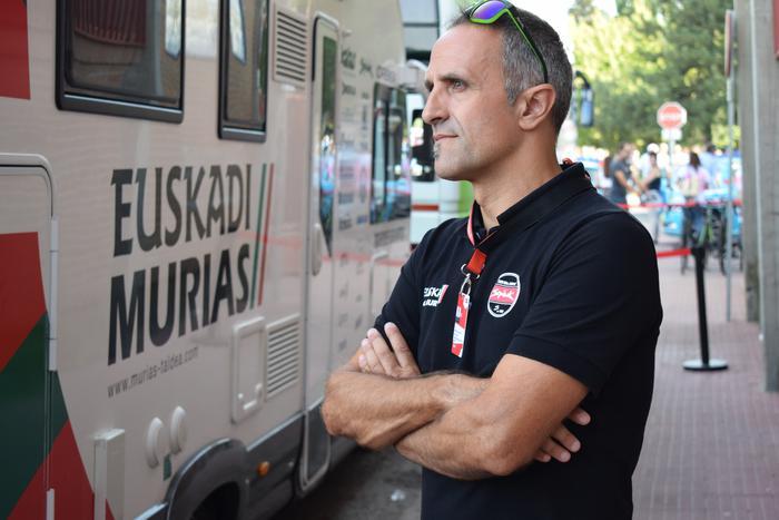 """Jon Odriozola: """"Euskadi Murias-ek ezin du talde izaera galdu"""""""