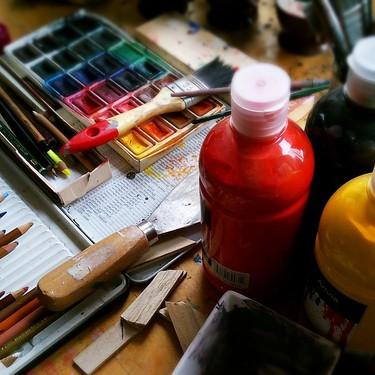 Pintura-saioa haurrentzat