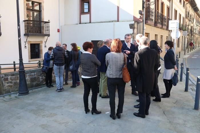 Arizmendik Jose Arana gunea inauguratu du - 4