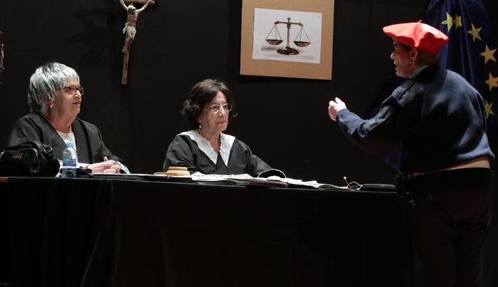 'Juzgado de guardia' antzezlana