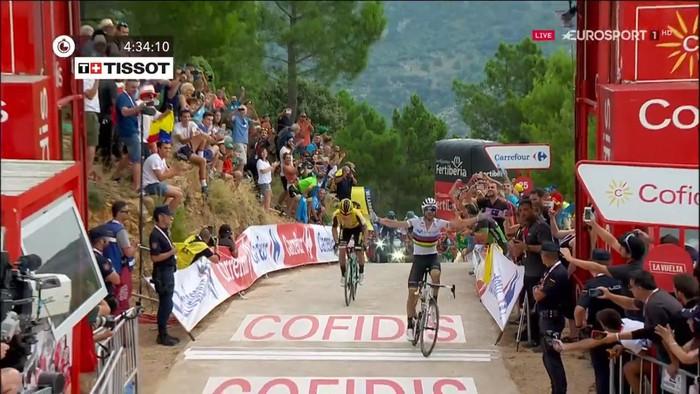 Valverdek irabazi du Mas de la Costan, eta Vuelta laukote baten esku geratu da