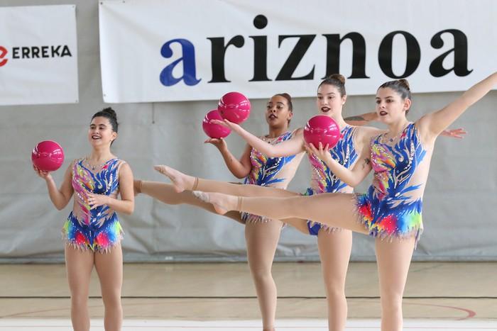 Maila bikaina gimnasia erritmikoko txapelketan - 57