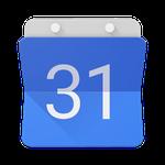 Kirol partiduen hitzorduak Google Calendarren