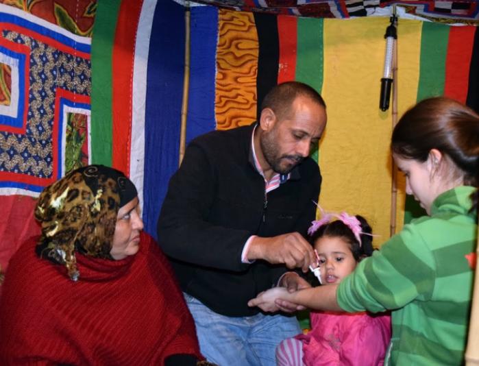 Sahararen aldeko festa antolatu du gazte txokoak
