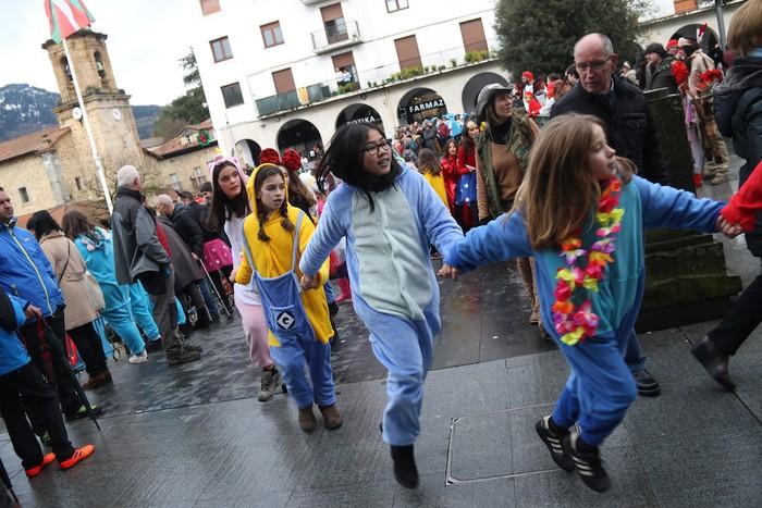 Inauterietako desfilea Aretxabaletan - 97