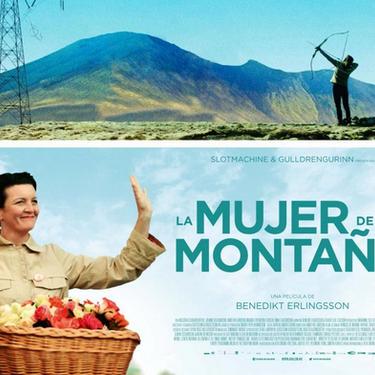 'La mujer de la montaña' filma aire librean
