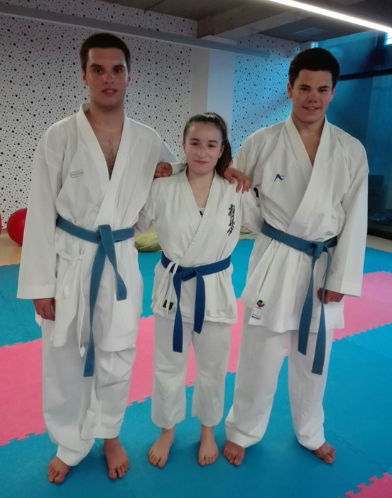 Karateko Liga Nazionalean izango dira UDAko hiru kirolari