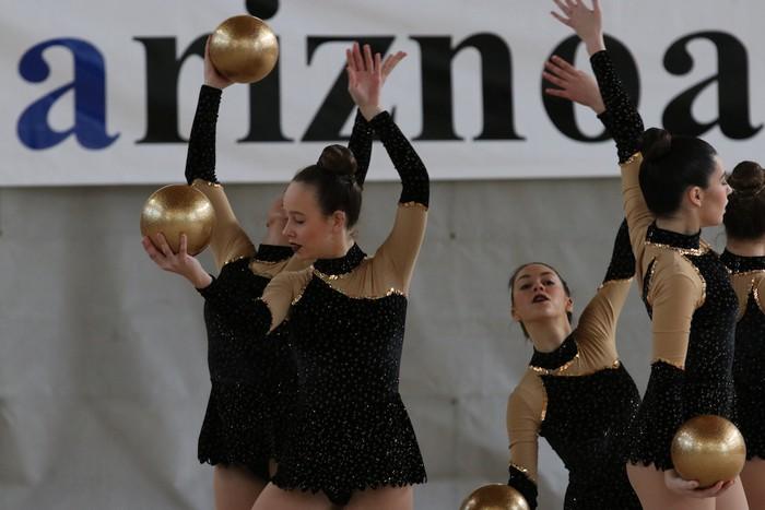 Maila bikaina gimnasia erritmikoko txapelketan - 27