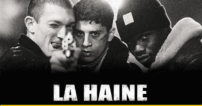 'La haine' filma