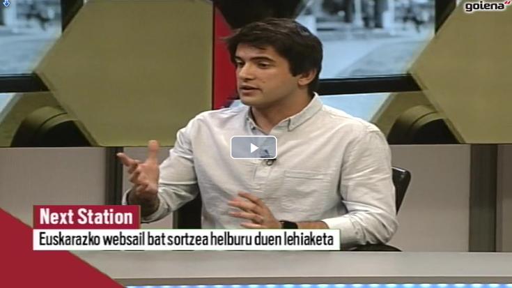 """Telmo Trenado: """"Etorkizuneko telebista sortzeko talentu berrien bila gabiltza"""""""