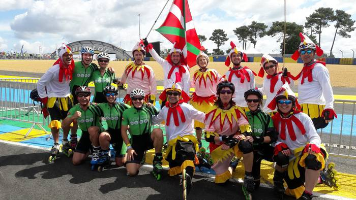 Le Mansen egon dira Oñatiko Tatarraz eta Bergarako Hanka Labanka taldeetakoak