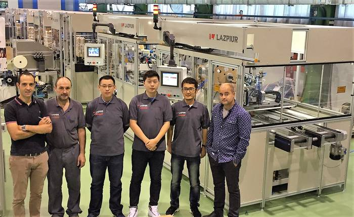 Lazpiurrek zerbitzu komertziala eta teknikoa emango du Txinan