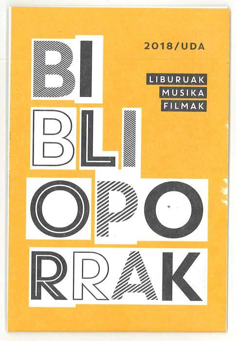 Dagoeneko eskuragarri 'Biblioporrak' gida berria
