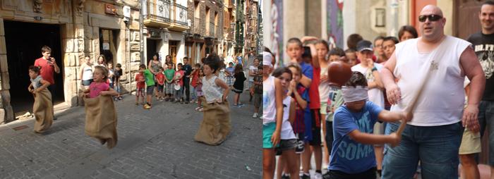 Maala eta Ferrerias, Arrasateko erdiguneko festarik klasikoenak