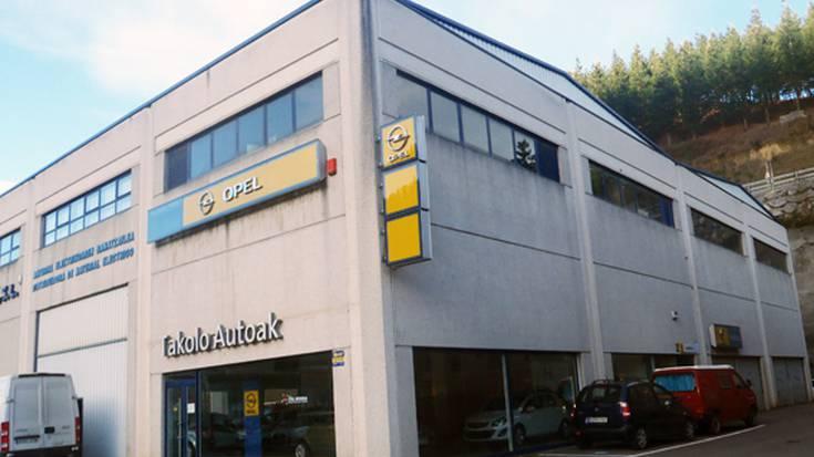 Takolo Autoak-Opel zerbitzua