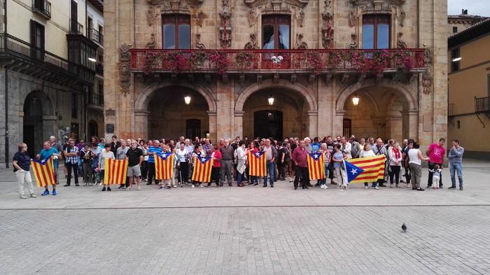 """""""Euskal herritarron etorkizuna ere jokoan dago Katalunian"""""""
