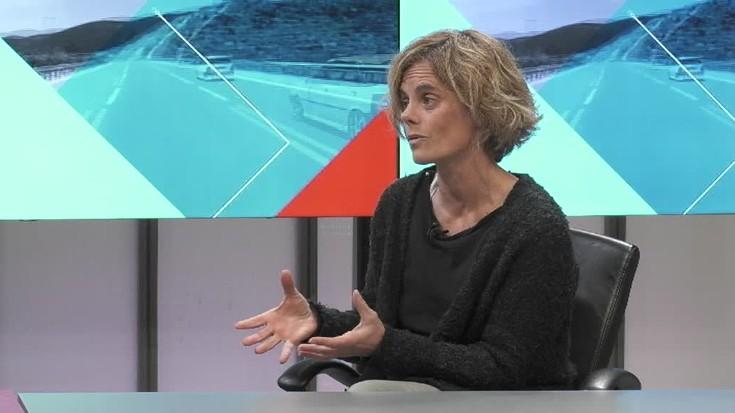 """Mireia Alberdi: """"Janari ez osasuntsuak baztertuz gero, gorputza berez itzultzen da bere tokira"""""""