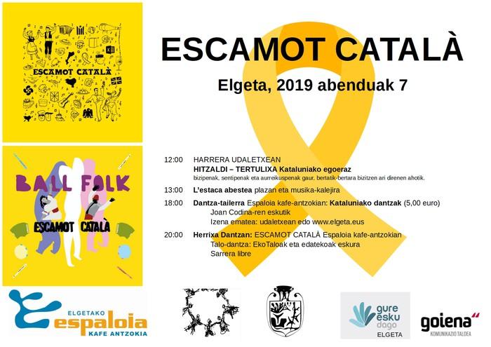 Abenduak 7: Escamot català Elgetan