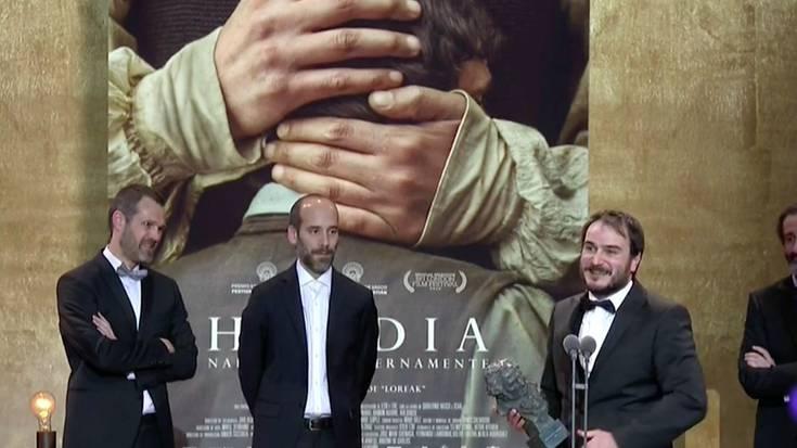 Hamar Goya irabazi ditu 'Handia' filmak