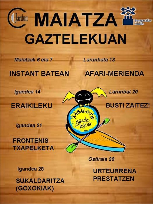 Maiatza Xabalote Gaztelekuan