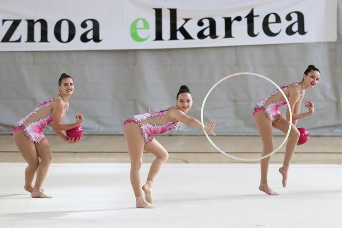 Maila bikaina gimnasia erritmikoko txapelketan - 10