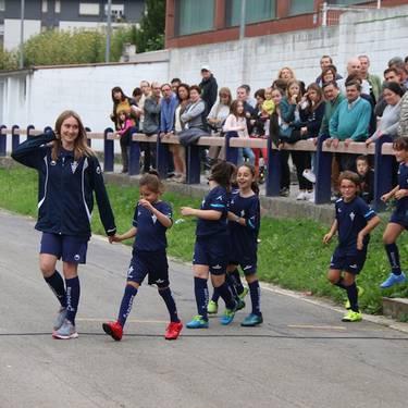 Futbol eskolako entrenamenduak bueltan
