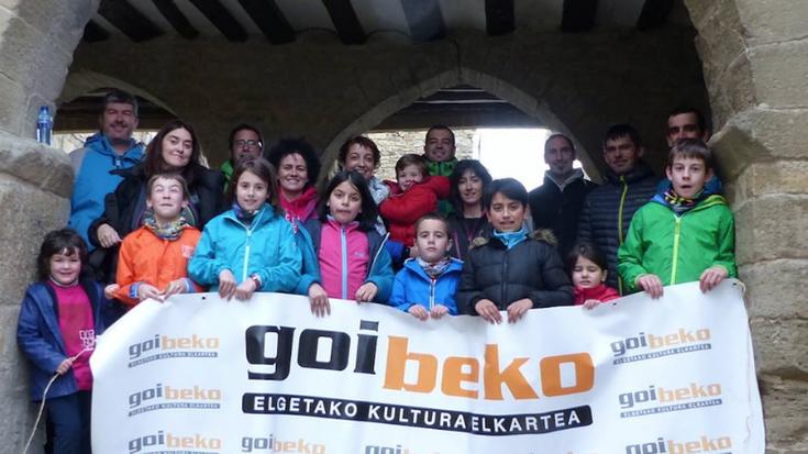 Goibeko Elgetako euskaltzaleen topagunea