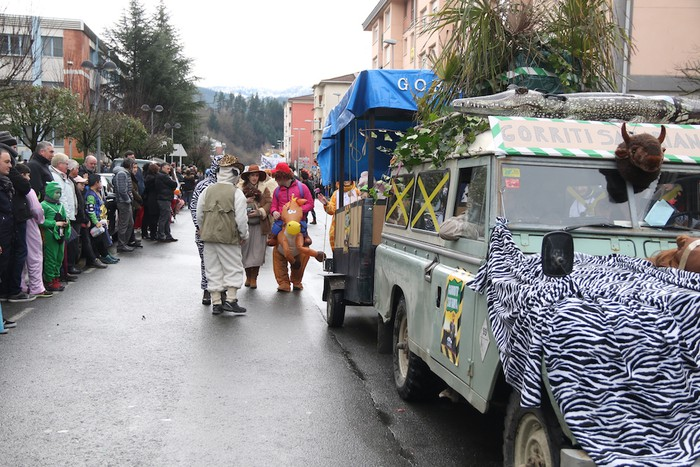 Inauterietako desfilea Aretxabaletan - 67