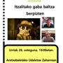 Hitzaldia: 'Itzalitako gaba baltza berpizten'