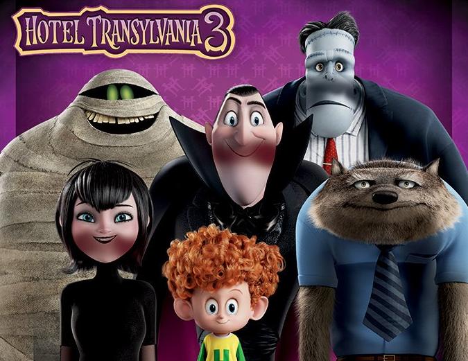 'Hotel Transilvania 3' filma, gaztetxoendako