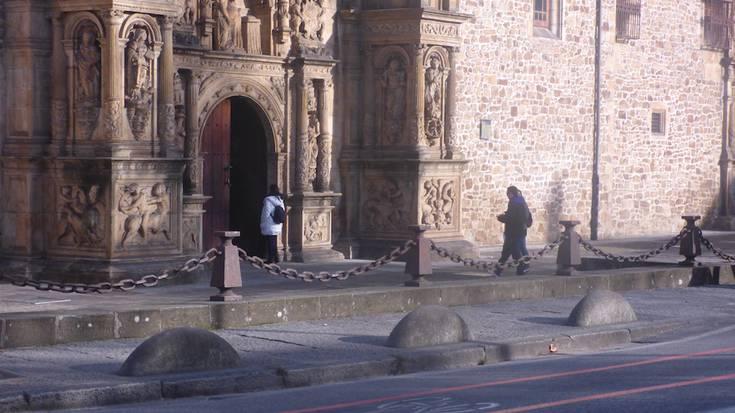 Turistak Oñatin