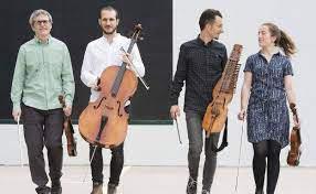 Alos Quartet eta Bergarako musika eskolako dantzariak