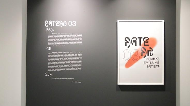 'Artean 3' erakusketaren inaugurazioa argazkitan