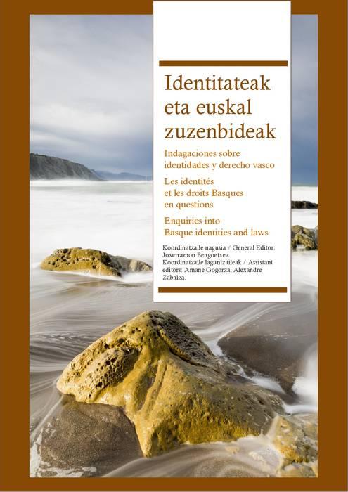 'Identitateak eta euskal zuzenbideak' liburua doan LSNEren webgunean