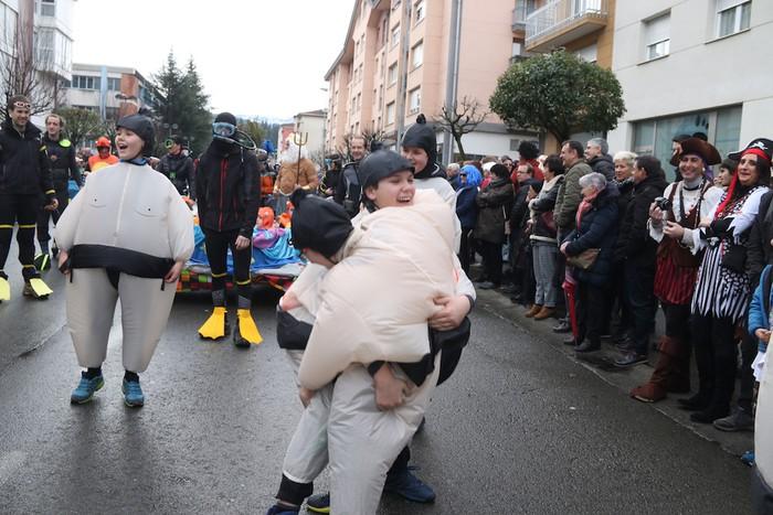 Inauterietako desfilea Aretxabaletan - 63
