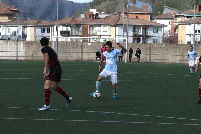 Beharrezko hiru puntuak lortu ditu UDAk Mutrikuren aurkakoan (1-0)