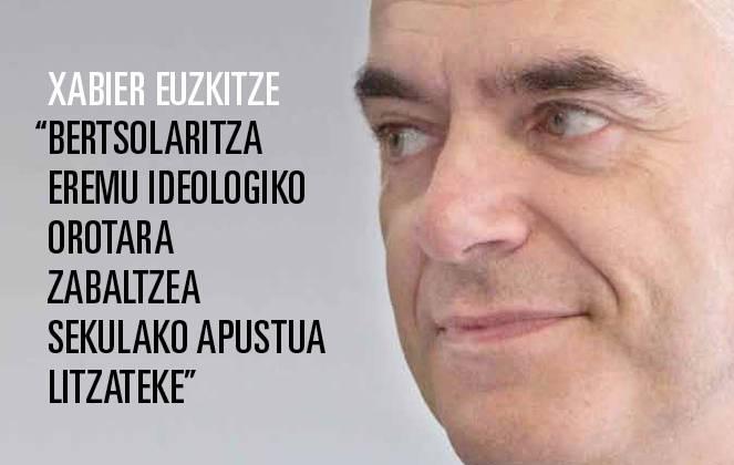 Xabier Euzkitze 'Puntua' aldizkarian