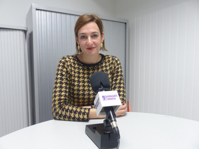 """Maria Ubarretxena: """"Juan Arzamendi Musika Etxeko obrak otsailean hastea da gure asmoa"""""""