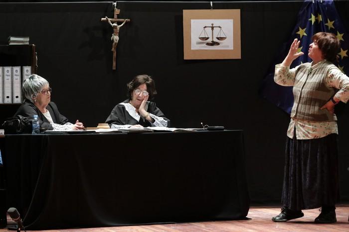 'Juzgado de guardia' antzezlana egingo dute erretiratuek domekan