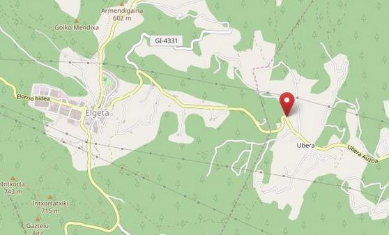 Txirrindulari bat zauritu da Bergaratik Elgetara bidean