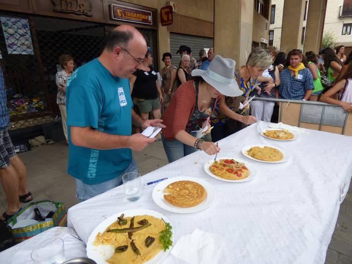 Antzuolako patata tortilla onena egiteko lehiaketa egingo da jaietan, izen-ematea zabalik