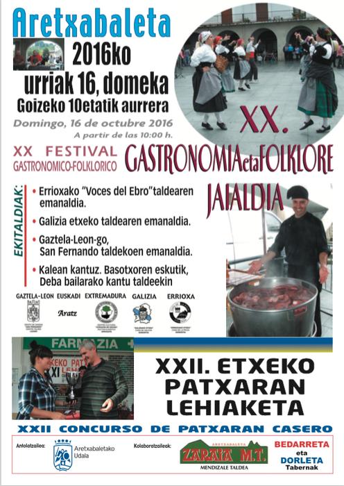 Gastronomia eta Folklore jaialdia