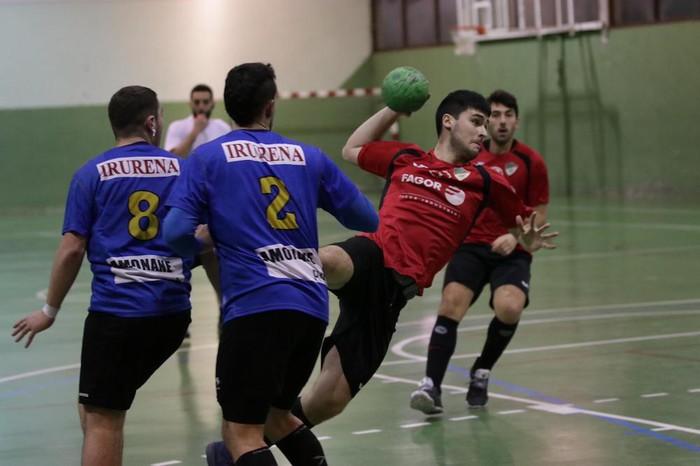 Fagor Industrial Aloña Mendik 35-14 irabazi dio Ordiziari