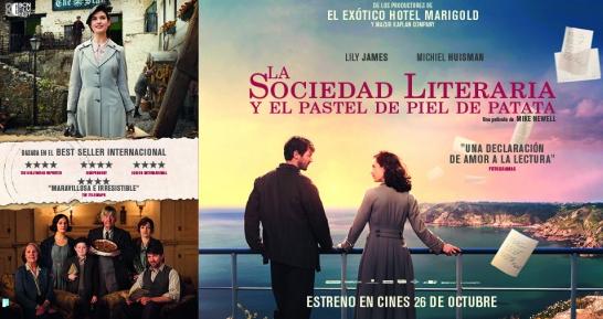 'La sociedad literaria y el pastel de piel de patata' filma